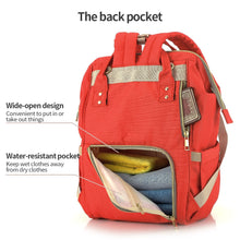 Load image into Gallery viewer, All in One Practical Baby Diaper Bag with Separate Pocket