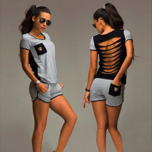 Load image into Gallery viewer, Women's Short-Sleeved Outfit