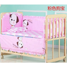 Load image into Gallery viewer, 5pcs Toddler Cotton Baby Bed Bumper