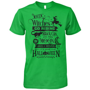 Witches Let's Go Riding