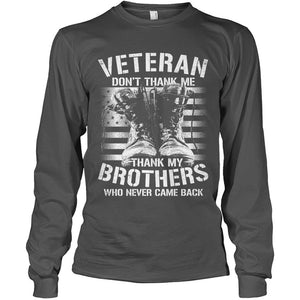 Remember Our Veteran Brothers