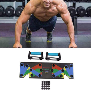 9 in 1 Push Up Rack Exercise Board