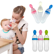 Load image into Gallery viewer, 90ML Baby Feeding Bottle Mouth Spoon