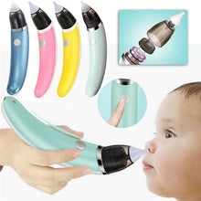 Load image into Gallery viewer, Electric Baby Nasal Aspirator Nose Cleaner