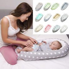 Load image into Gallery viewer, Washable/Portable Baby Nest Bed Crib