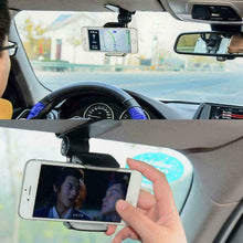 Load image into Gallery viewer, 360 Rotating Car Sun Visor Cell Phone Mount Holder