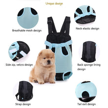 Load image into Gallery viewer, Portable Dog Carrier Backpack
