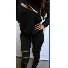 Load image into Gallery viewer, Women's Sport Tracksuits Set