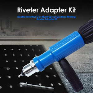 Rivet Nut Gun Drill Adapter Kit