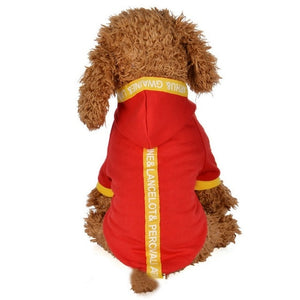 Fashion Winter Pet Hoodies Outfit