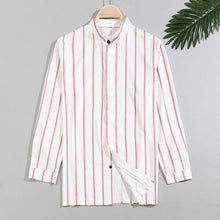 Load image into Gallery viewer, Men's Casual Striped Shirts