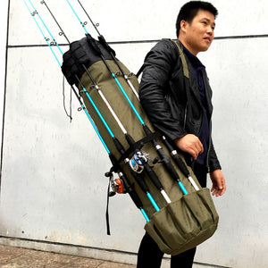 Portable Multi-function Fishing Rod Bag