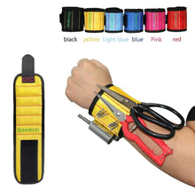 Load image into Gallery viewer, Magnetic Wristband Screws Drill Holder