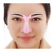 Load image into Gallery viewer, Reusable Eyebrow Makeup Stencils
