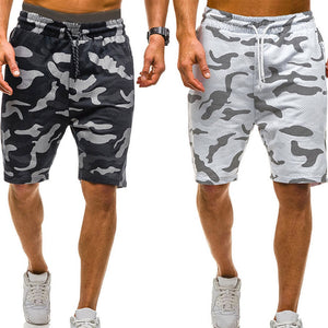 Men's Camouflage Casual Shorts