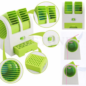 Mini Portable USB Desktop Air Conditioner