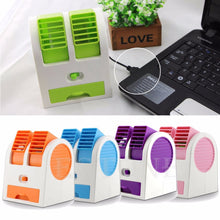 Load image into Gallery viewer, Mini Portable USB Desktop Air Conditioner