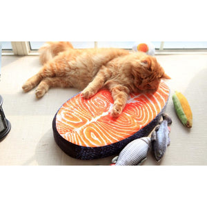 Cat Seafood Pillow Bed