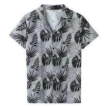 Load image into Gallery viewer, Men's Casual Short Sleeve Cotton Shirt