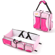 Load image into Gallery viewer, Portable Baby Folding Bed Travel Bag