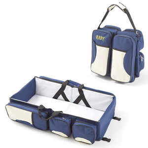 Portable Baby Folding Bed Travel Bag
