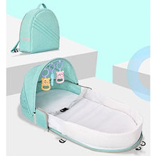 Load image into Gallery viewer, Multi-function Portable Baby Backpack Crib