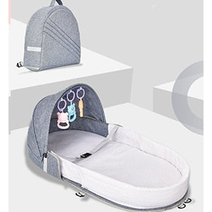 Multi-function Portable Baby Backpack Crib