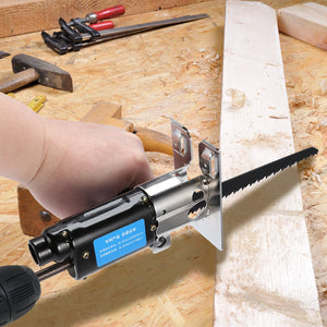 Multi-function Electric Drill Saw Attachment