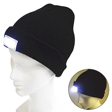 Load image into Gallery viewer, LED Flashlight Hat for Outdoor Activities