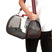 Load image into Gallery viewer, Pets Carrier Transparent Travel Handbags