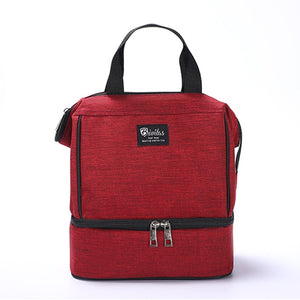 Ladies Portable Lunch Bag