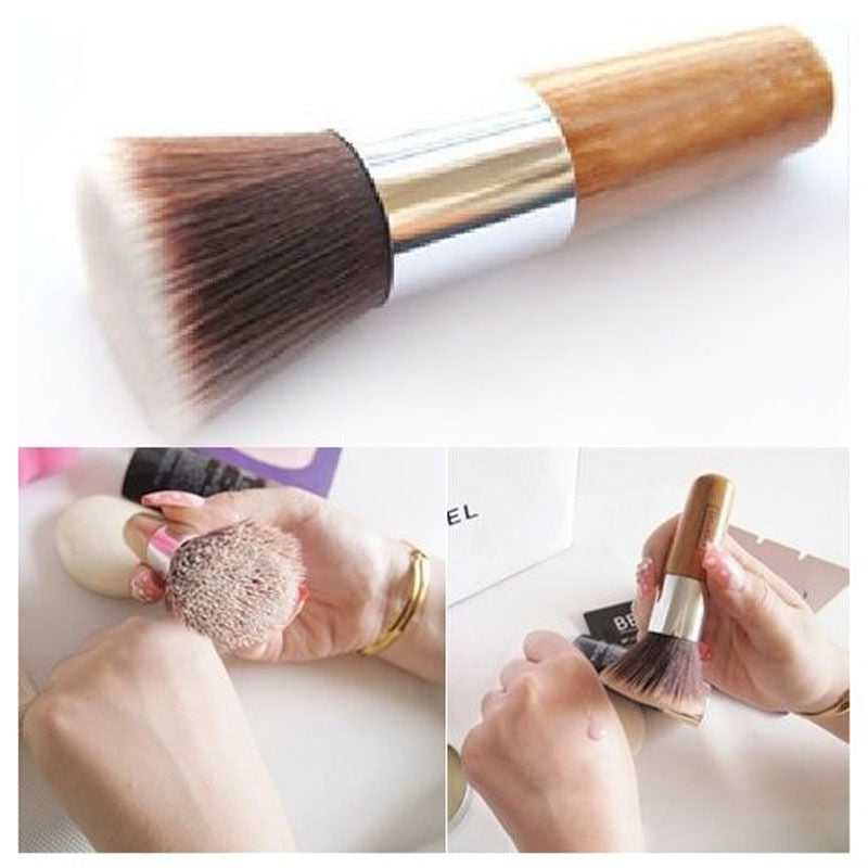 Wooden Makeup Brush