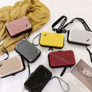 Women's Fashion Mini Luggage Shoulder Bags