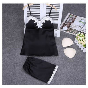 Women's Lingerie Two Piece Pajamas Set
