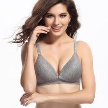 Load image into Gallery viewer, Breastfeeding Cotton Maternity Bra
