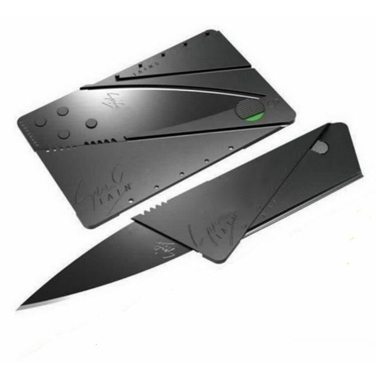 Credit Card Camping knife