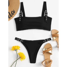 Load image into Gallery viewer, Buckle Top Bikini Set