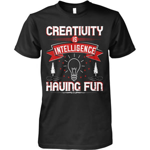 Creativity, Is Intelligence Having Fun