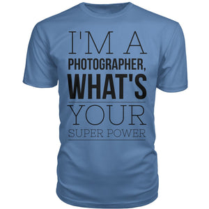 I'm A Photographer, What's Your Super Power?
