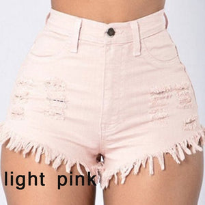 Women's Ripped High Waist Jeans - A&M Shopping Center