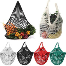 Load image into Gallery viewer, New Fordable Mesh String Grocery Bags