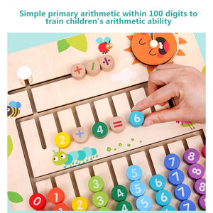 Montessori Wooden Math Toys