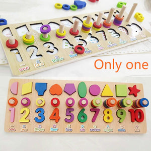 Educational Fishing Mathematics Toy