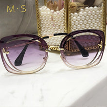 "Load image into Gallery viewer, ""MS Bardie"" - Luxury Sunglasses"