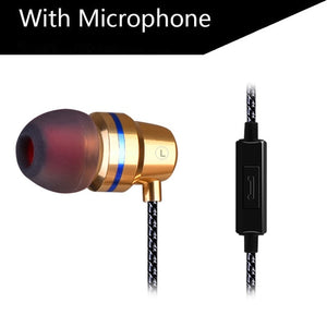 Super Bass Earphone Headset With Mic