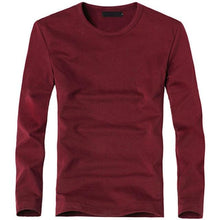 Load image into Gallery viewer, Men's Cotton V-Neck Long Sleeve