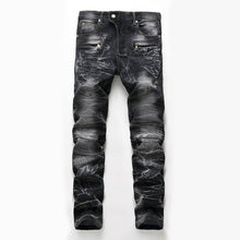 Load image into Gallery viewer, Men's Snow Design Fashion Jeans