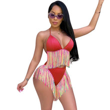 Load image into Gallery viewer, Women's Rainbow 2pcs Set Swimwear