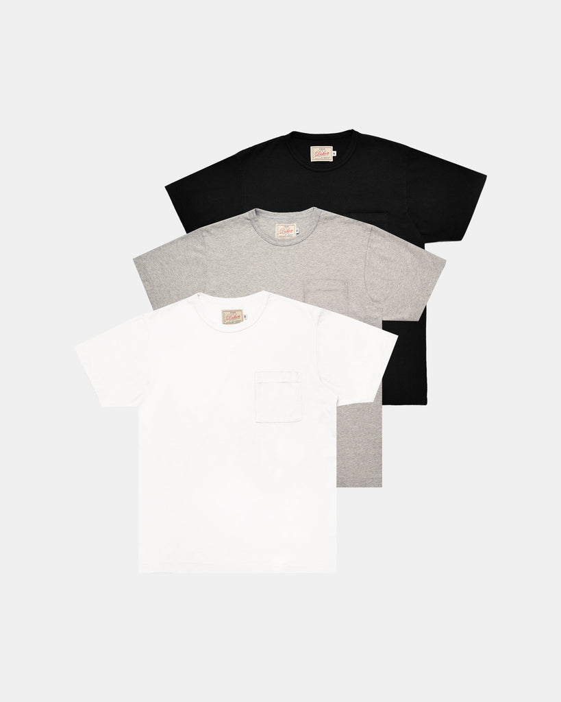 Heavy Duty Tee - Single Pocket / 3 Pack