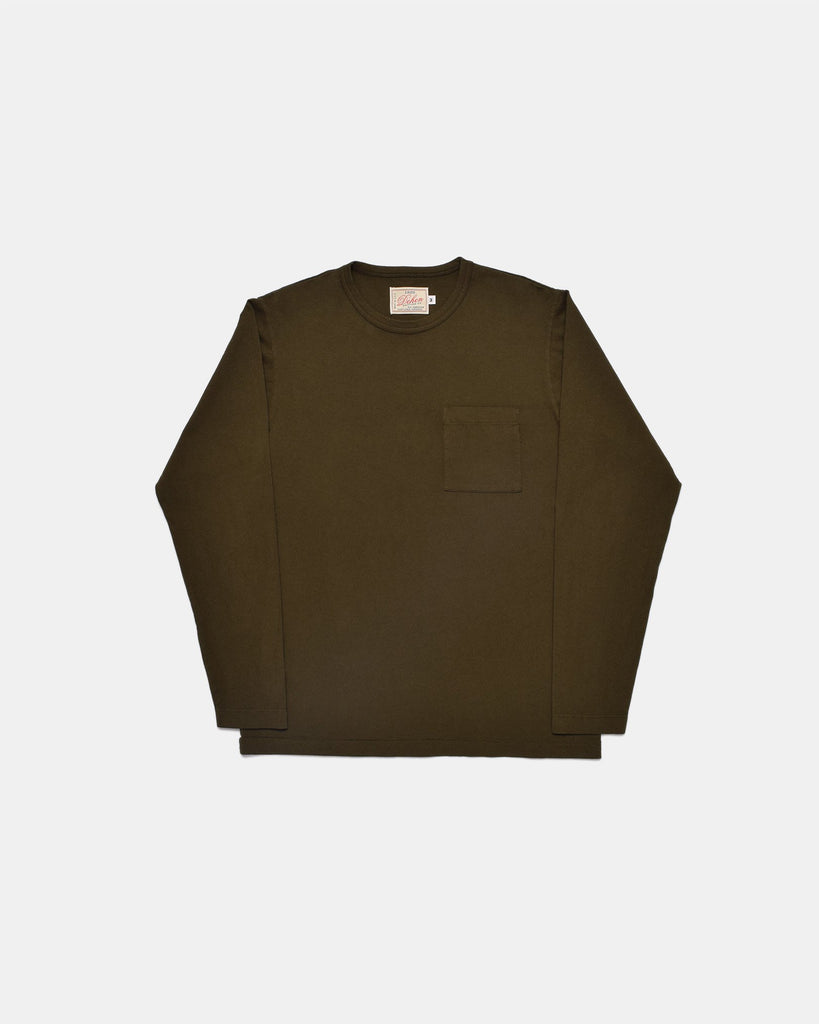 Heavy Duty Long Sleeve Tee - Single Pocket
